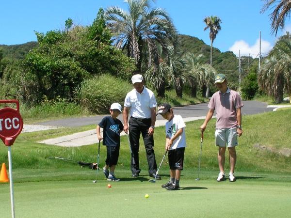 ゴルフ体験