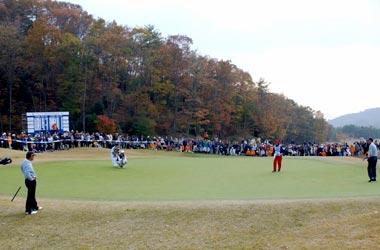 鬼ノ城ゴルフ倶楽部(岡山・ PGAシニアツアー競技 鬼ノ城シニアオープン